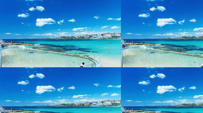 Tapeta Pixerstick Bondi Beach a pobřeží, Sydney - Austrálie - Jiné