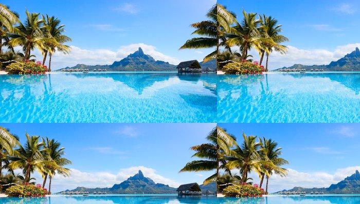 Vinylová Tapeta Bora Bora krajiny - Témata