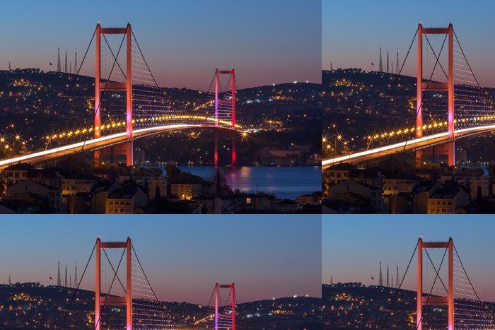 Tapeta Pixerstick Bosphorus Bridge, Istanbul - Témata