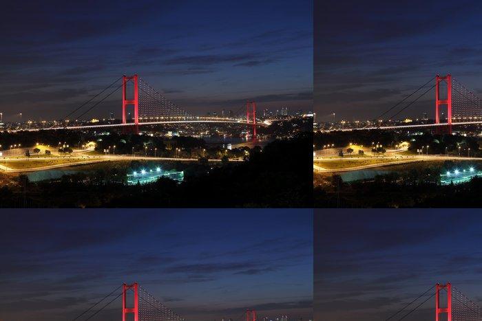 Tapeta Pixerstick Bospor most, Istanbul, Turecko - Střední Východ