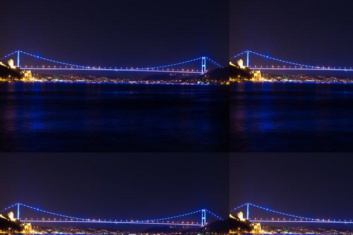 Vinylová Tapeta Bospor most v Istanbulu Turecko - Prázdniny