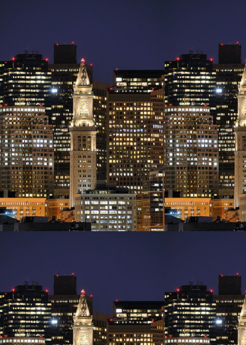 Tapeta Pixerstick Boston Skyline - Amerika