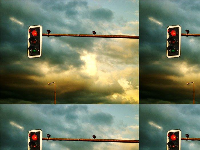 Tapeta Pixerstick Bouře se blíží - Nebe