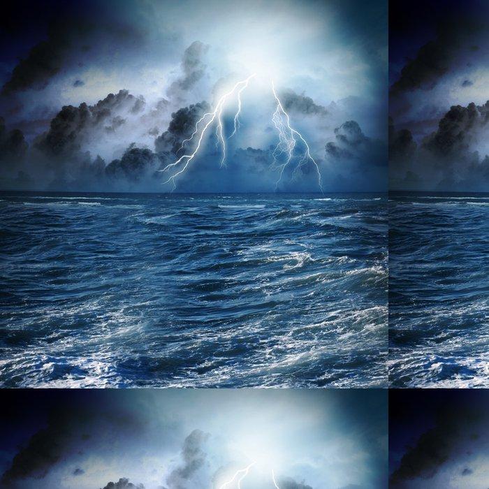 Tapeta Pixerstick Bouře v noci - Život