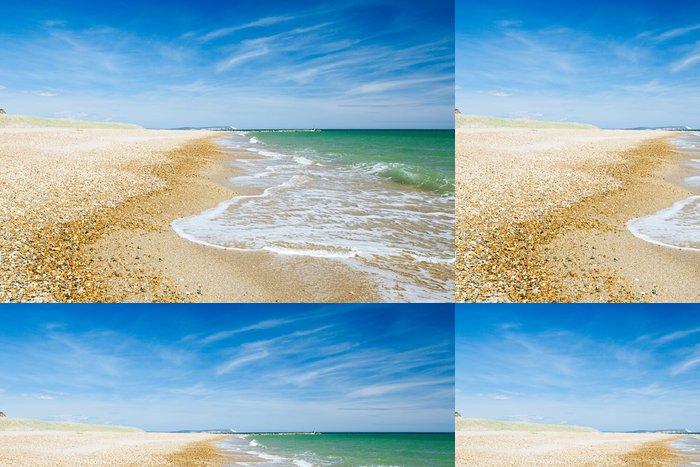 Tapeta Pixerstick Bournemouth beach a útesy, Severní moře, UK - Jídla