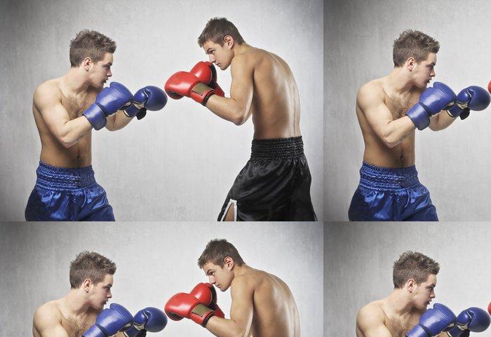 Tapeta Pixerstick Boxe zápas - Témata