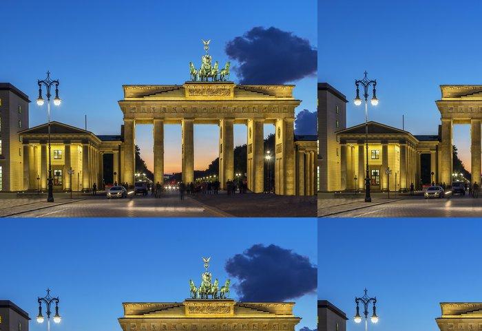 Tapeta Pixerstick Braniborská brána, Berlín - Evropa