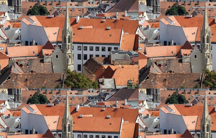 Tapeta Pixerstick Bratislava-pohled z hradu - Jiné