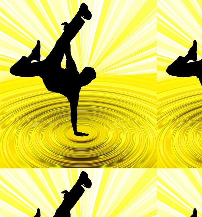 Tapeta Pixerstick Breakdance tah - Individuální sporty