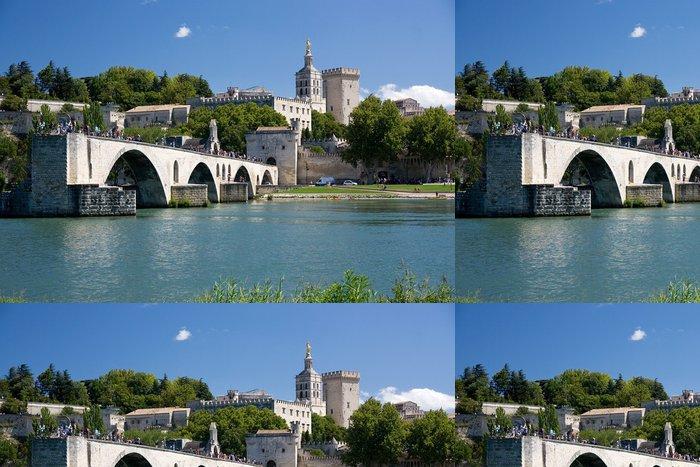 Vinylová Tapeta Bridge at Avignon, Francie - Evropa
