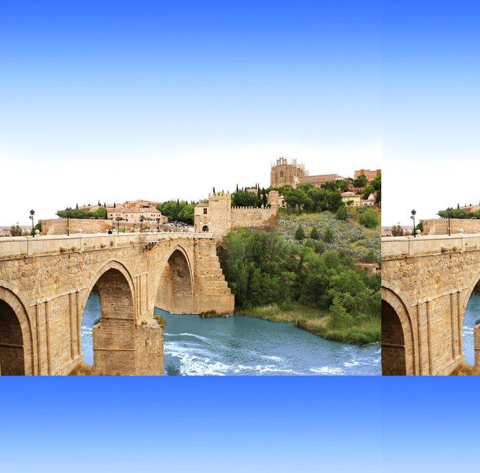 Tapeta Pixerstick Bridge of Toledo, Španělsko - Témata