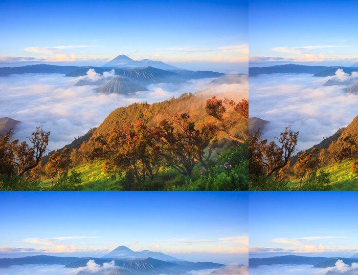 Vinylová Tapeta Bromo sopka při východu slunce, Východní Jáva, Indonésie - Asie