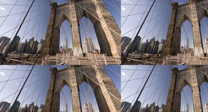 Tapeta Pixerstick Brooklyn Bridge, New York, NY - Témata