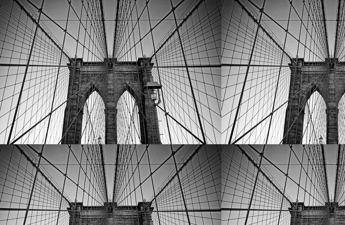 Tapeta Pixerstick Brooklyn bridge - Brooklynský Most