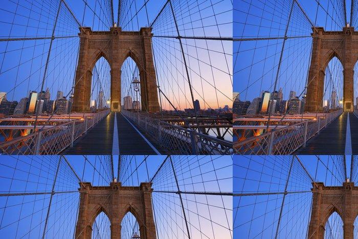 Tapeta Pixerstick Brooklyn bridge - Témata