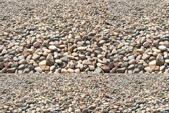 Tapeta Pixerstick Brown Pebble - Struktury
