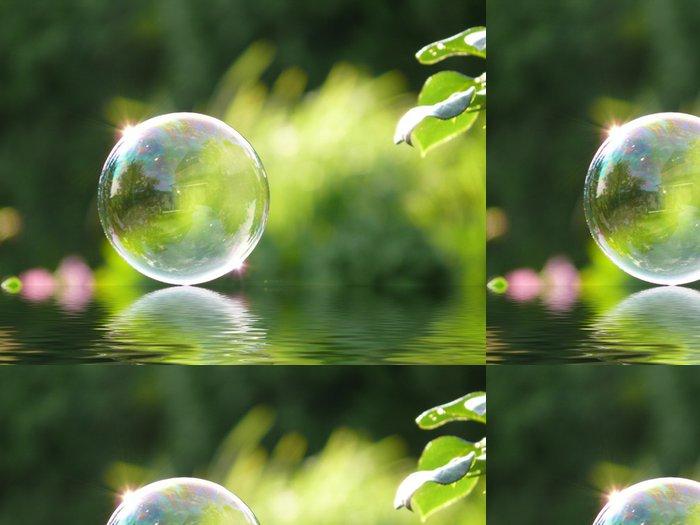 Tapeta Pixerstick Bubble + voda efekt - Prodej