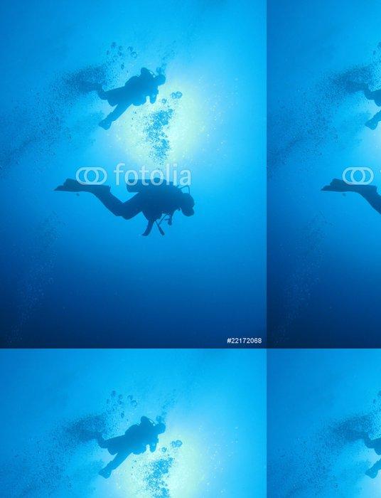 Tapeta Pixerstick Buceadores - Vodní sporty