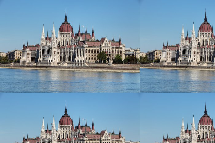 Tapeta Pixerstick Budapešť - Maďarský parlament. - Evropa