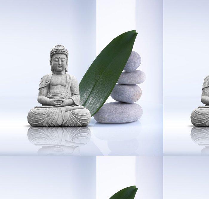 Tapeta Pixerstick Buddha socha - Náboženství
