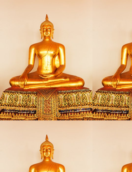 Tapeta Pixerstick Buddha ve Wat Po chrámu - Témata