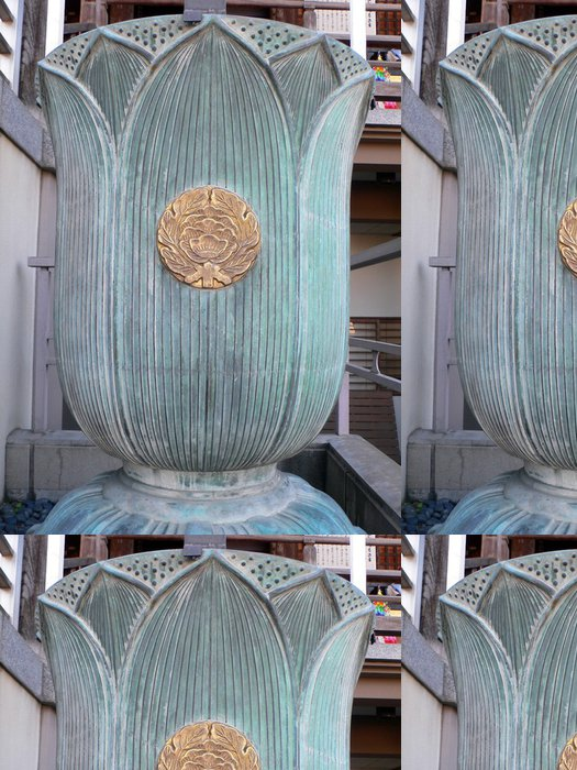 Tapeta Pixerstick Buddhistický symbol lotosového květu - Asie