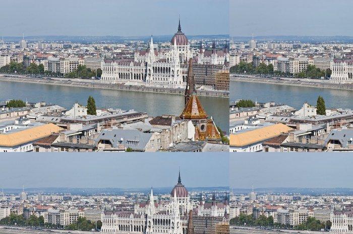Tapeta Pixerstick Budova parlamentu v Budapešti, Maďarsko - Evropa