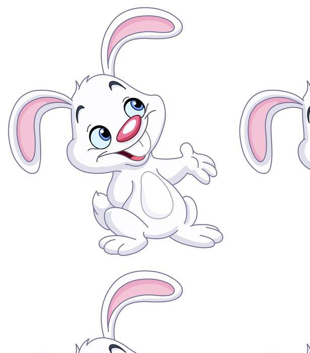 Tapeta Pixerstick Bunny, které představují - Nálepka na stěny