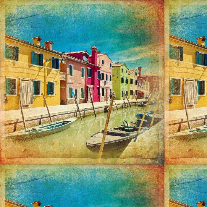 Tapeta Pixerstick Burano - Benátky - Evropská města