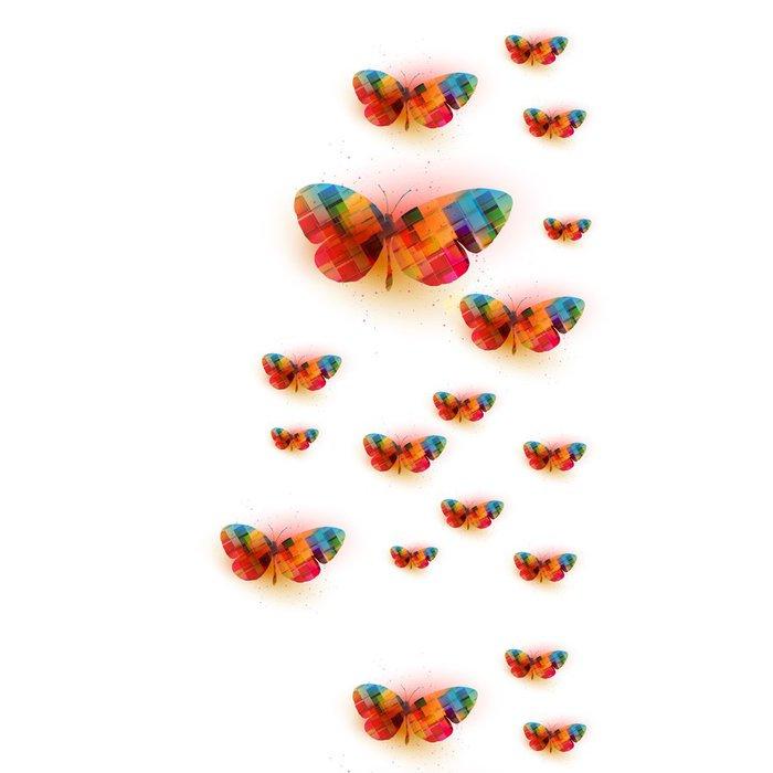 Tapeta Pixerstick Butterfly pozadí - Umění a tvorba