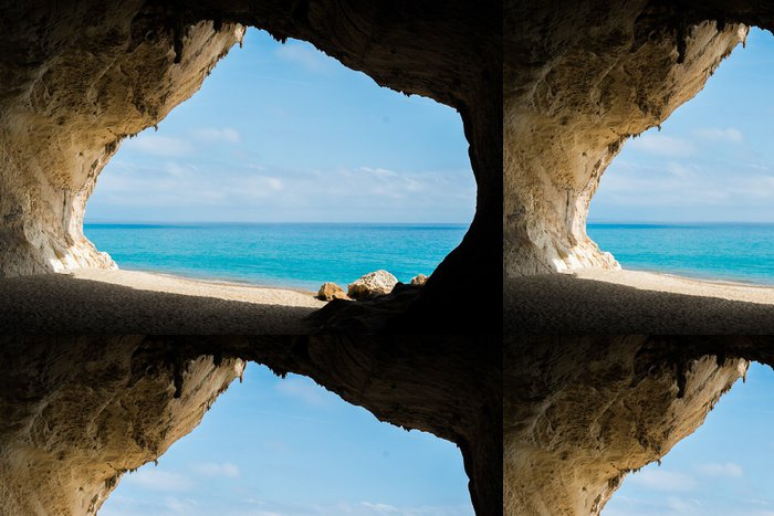 Tapeta Pixerstick Cala Luna beach - Voda