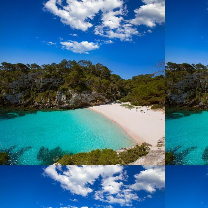 Tapeta Pixerstick Cala Macarelleta Menorca na Baleárských ostrovech - Evropa