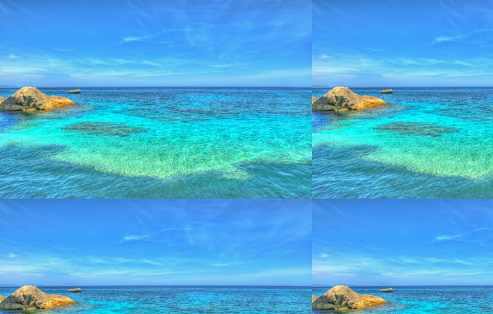 Tapeta Pixerstick Cala Mariolu moře - Evropa