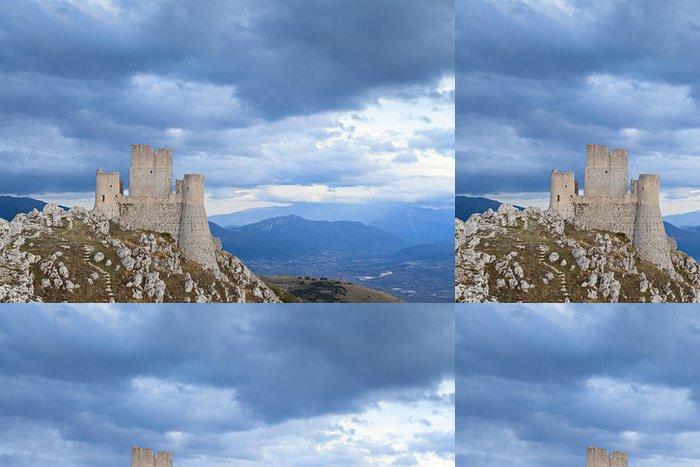Tapeta Pixerstick Calascio pohled tvrze zámecké - Evropa