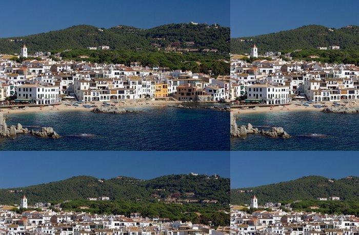 Tapeta Pixerstick Calella de Palafrugell na pobřeží Costa Brava, Španělsko - Evropa