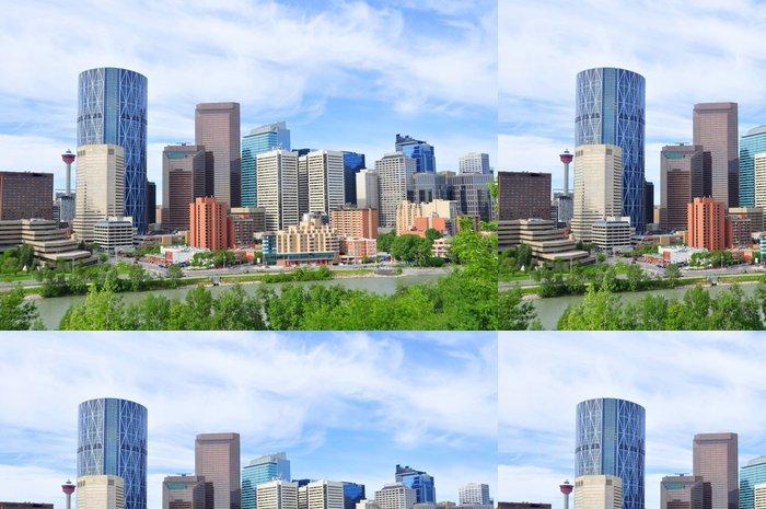 Tapeta Pixerstick Calgary skyline - Jiné