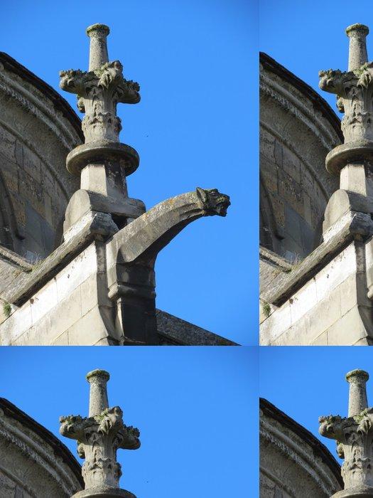 Tapeta Pixerstick Calvados - Lisieux - Gargouille sur la cathédrale Saint-Pierre - Prázdniny