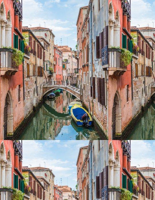 Tapeta Pixerstick Canal v Benátkách, Itálie - Témata