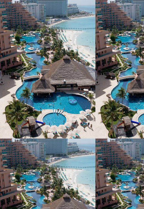 Vinylová Tapeta Caribbean Resort Hotel - Amerika