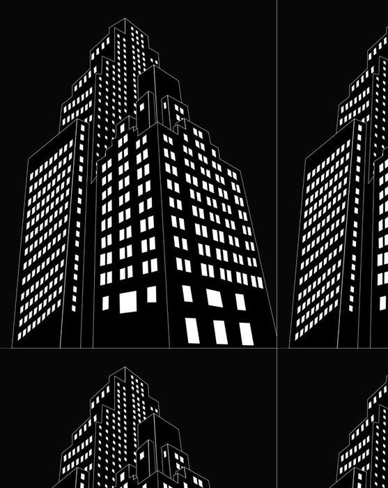 Tapeta Pixerstick Cartoon stavební vektor - Těžký průmysl
