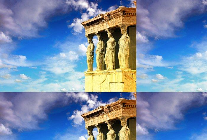 Tapeta Pixerstick Caryatids, Erechtheion chrám Acropolis - Styly
