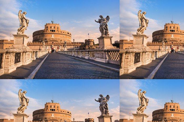 Tapeta Pixerstick Castel Sant'Angelo - Roman - Evropská města