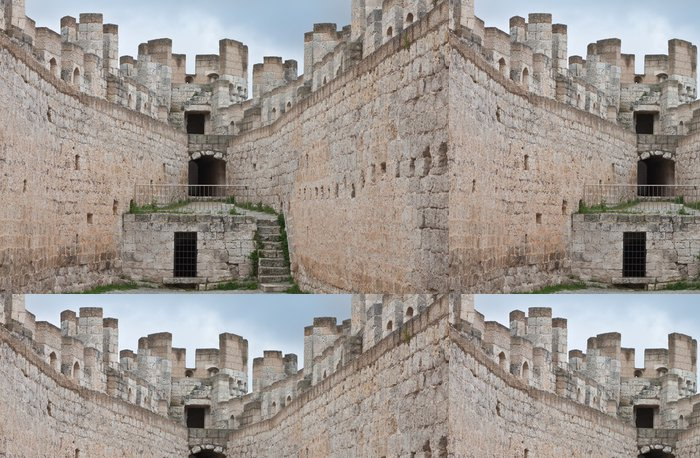 Tapeta Pixerstick Castillo de Peñafiel - Témata
