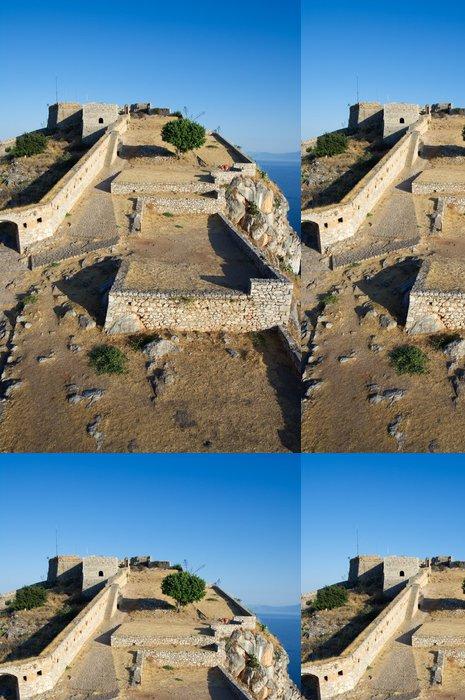 Tapeta Pixerstick Castle Rock - Prázdniny