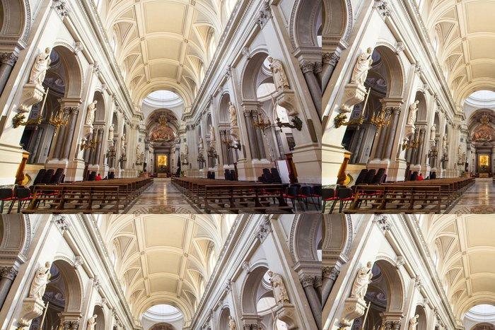 Vinylová Tapeta Cattedrale di Palermo_navata centrale_Sicilia - Veřejné budovy