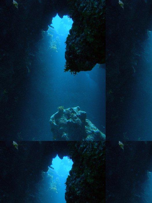 Tapeta Pixerstick Cavediving - Podvodní svět