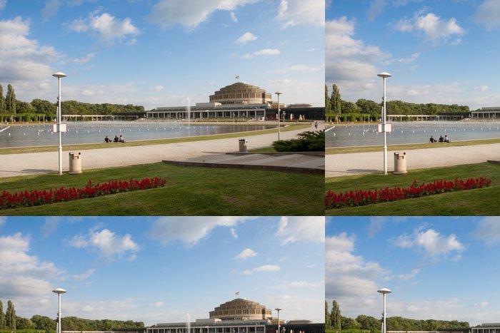 Tapeta Pixerstick Centennial Hall Wroclaw - Témata
