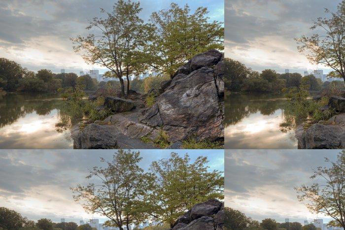 Tapeta Pixerstick Central Park na začátku podzimu - Americká města