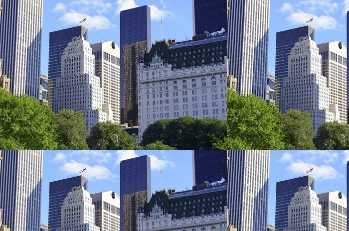 Tapeta Pixerstick Central Park v centru Manhattanu a panorama, New York City - Americká města