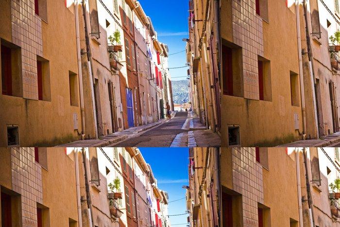 Tapeta Pixerstick Centrum města Aubagne, nedaleko Marseille, Francie - Prázdniny